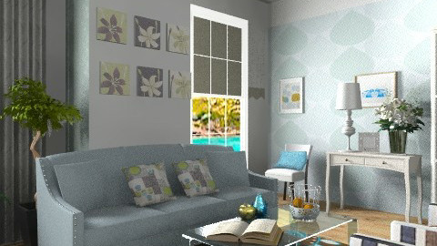 Luna - Eclectic - Living room  - by milyca8