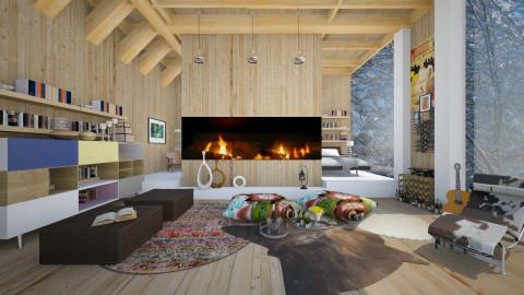 Alps 02 - Modern - Living room  - by Ida Dzanovic