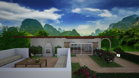 Exterior Design - Garden  - by Riordan Simpson