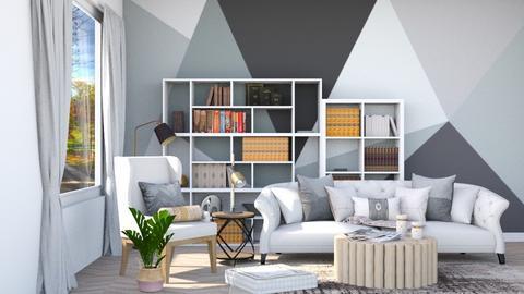 Ashen Wood - Living room  - by lyrikkah