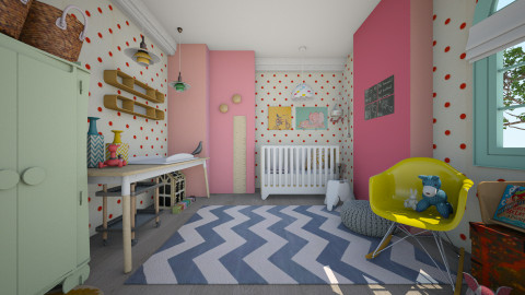 Eclectic Nursery - by BRL