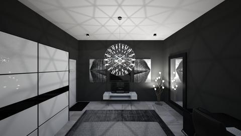 Room A_Side 5 - Modern - Living room - by zainunazrin