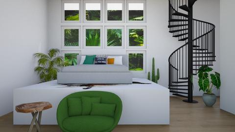 Jungle Living - Bedroom - by REGINA100
