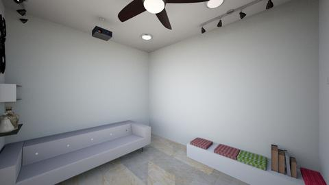 L shape - Living room  - by laichiongwee