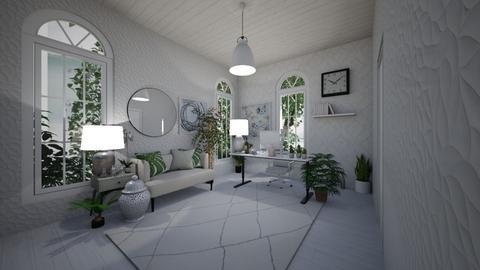 white office - by jakobgtvedt
