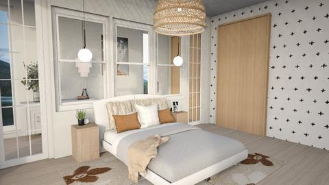 the glass room - Bedroom  - by SunflowerStudios
