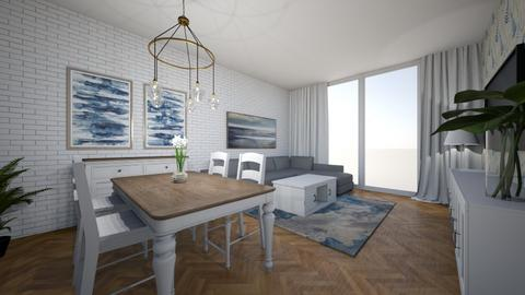 salon - Classic - Living room  - by SA_Karpinska
