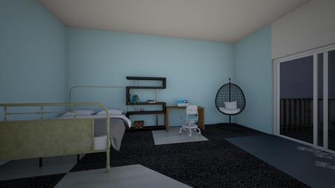 Bedroom by the bay - Modern - Bedroom  - by Hali Lieser