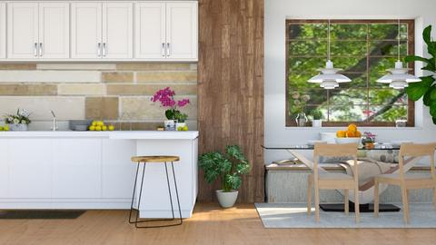 June - Rustic - Kitchen  - by millerfam
