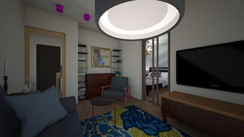 September1709 - Living room  - by Julia Nick