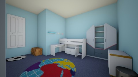 My bedroom plan - Modern - Kids room - by Crazy_Macy06