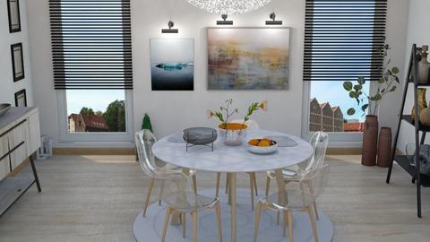 cool morning - Dining room  - by vassilianna