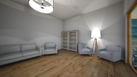 beach living room - Living room  - by Eliz122349