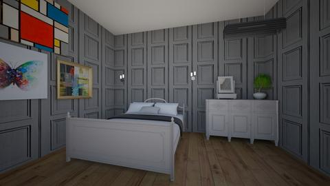 Gustavian Grey - Bedroom  - by Marzbar3