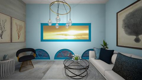 Ocean - Living room  - by Meghan White