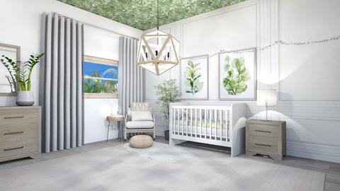Neutral Nursery - Modern - Kids room  - by Beige Cloud
