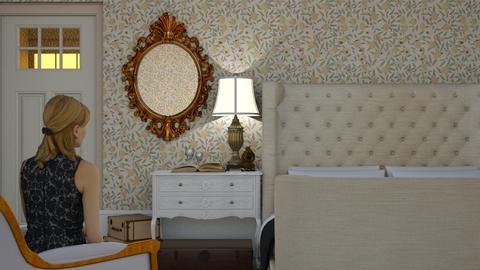 Hotel - Vintage - Bedroom  - by HenkRetro1960