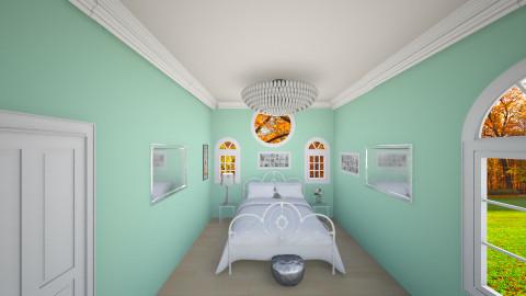 tiffanys room - Bedroom - by Ellarilynn