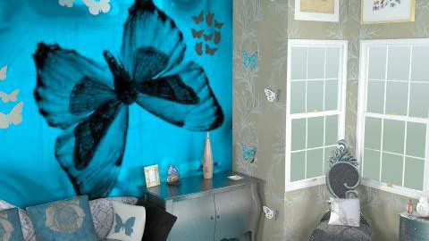 Butterfly world - Eclectic - Living room  - by HazelMP