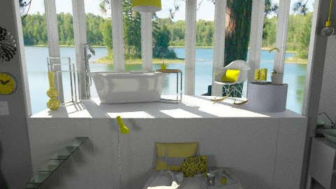 And a Splash of Yellow - Eclectic - Bathroom  - by idesine