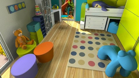 Kids Room - Kids room  - by ynes6