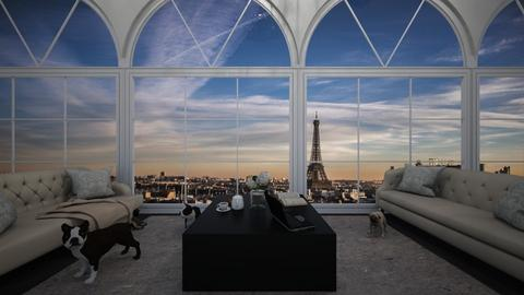 Room in Paris - by The_girl26
