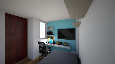 small room F5 - Modern - by katylismo
