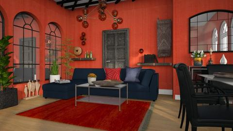 M_ The rug - Living room  - by milyca8