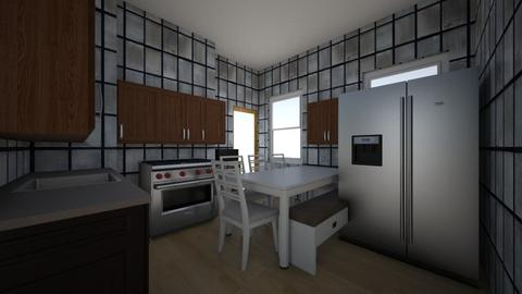 Cocina 3 - Kitchen  - by exdrawi