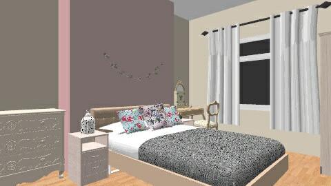 Retro Vintage Girly Room Feminine Bedroom By Shannongrant