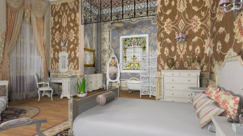 Christine Bedroom - Classic - Bedroom  - by Bibiche