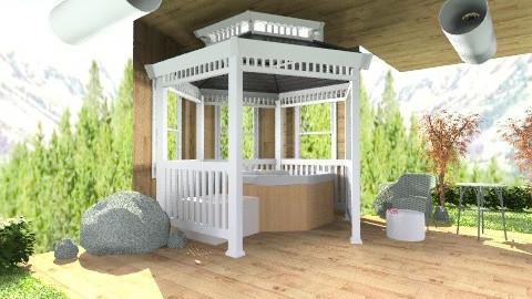 Hot tub  - Minimal - Garden  - by Amy Neil