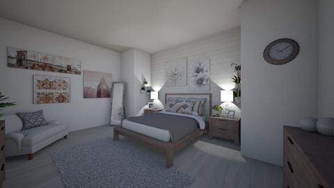 Blush Rustic Bedroom - Bedroom - by haydenak472