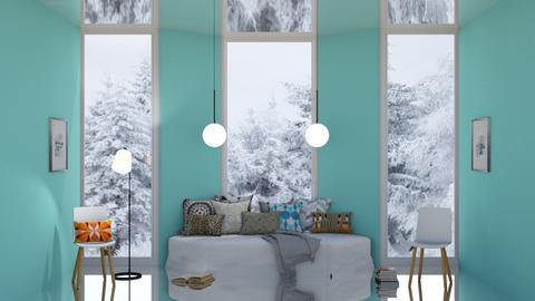 For snowbear365 - Living room  - by designcat31
