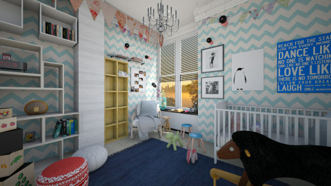 bolden sunshine - Modern - Kids room  - by Evangeline_The_Unicorn