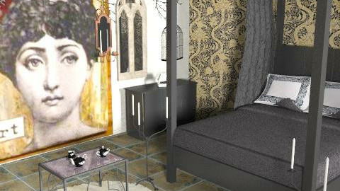 cosy1c - Eclectic - Bedroom  - by FRANKHAM
