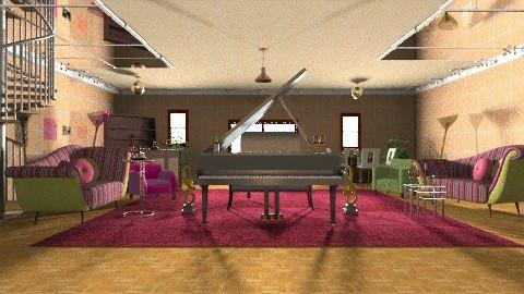 Piano Bar - Vintage - by wiljun