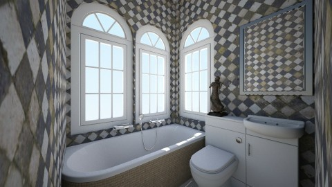 Bathroom Linda - Bathroom - by Wendy Broyles