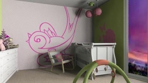 Matliy Nursery - Eclectic - Kids room  - by NikkiN95