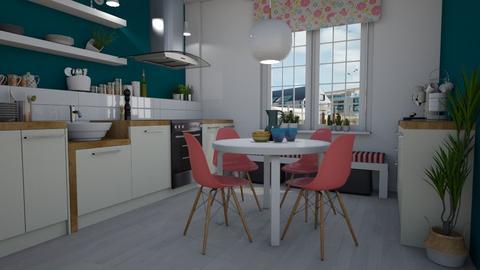 Playful - Kitchen - by Tuija