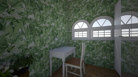 room with flowers - Vintage - by Zrzka