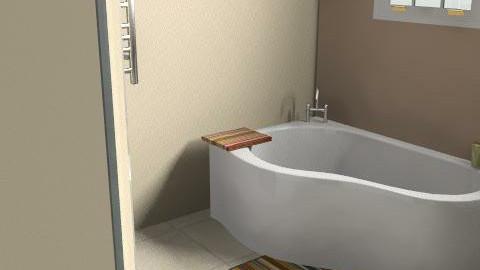 Modern Bathroom - Glamour - Bathroom  - by GeeChan
