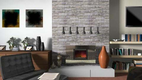 Fireplace will light stay - Modern - Living room  - by anjuska9