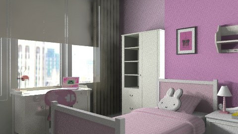 girly room 3 - Classic - Bedroom  - by architect_09