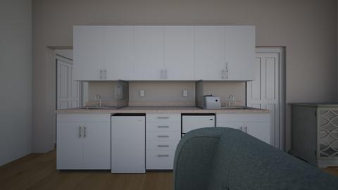garzon1 nappali konyha - Modern - Bedroom  - by furjespalotaslena