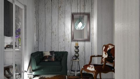 Hall 5 - Rustic - Living room  - by Gurns