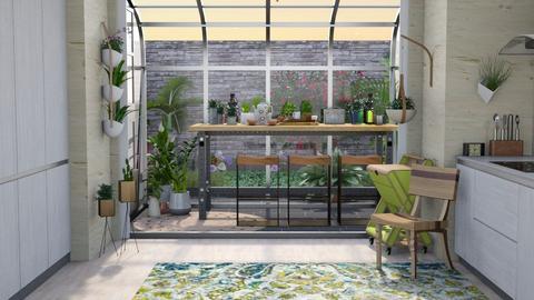 UB kitchen - Kitchen  - by augustmoon