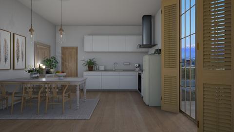 Light Wooden Kitchen - by Danielle_ML