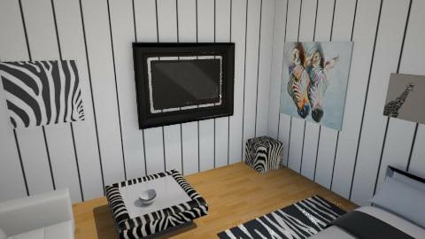 zebra - Bedroom - by miaec4