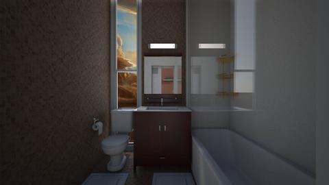 Small Apartment Bathroom - Bathroom  - by SammyJPili